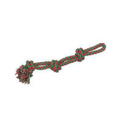 corde de tirage en coton 3 noeuds