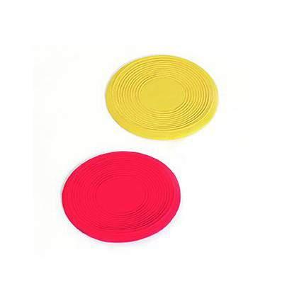 Frisbee latex Peewee 13 cm jout pour chien