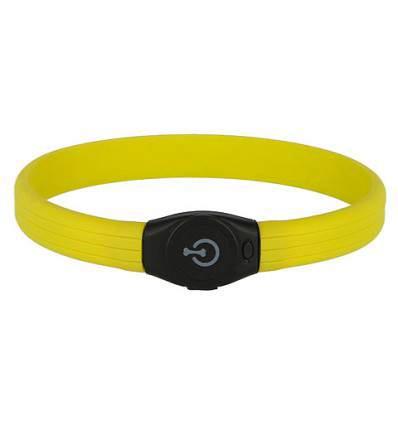 Collier lumineux anis pour chien LED Maxi Safe