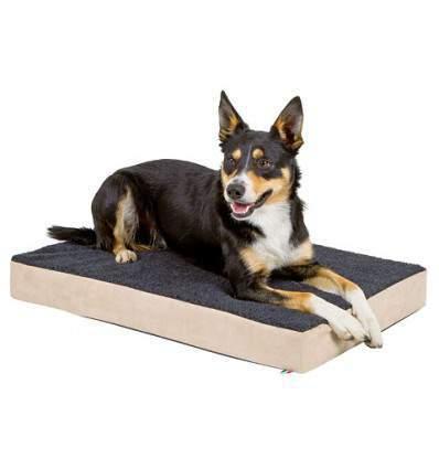 Matelas à mémoire de forme pour chien 80 x 50 x 8 cm