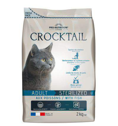 Pro Nutrition - Flatazor Crocktail Adult Stérilisé - Poisson