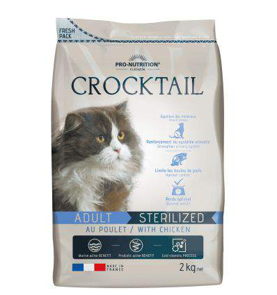 Pro Nutrition - Flatazor Crocktail Adult Stérilisé - Poulet