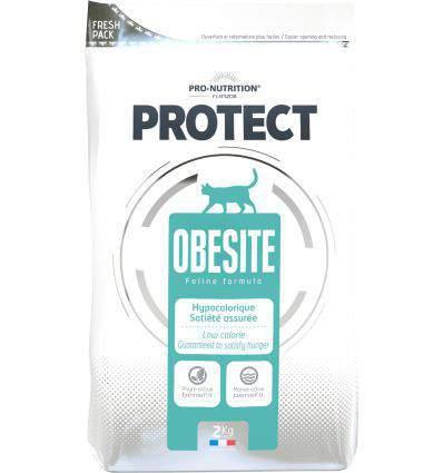 Pro Nutrition - Flatazor Protect Obésité Chat