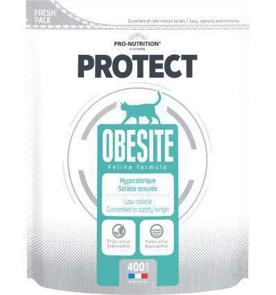 Pro Nutrition - Flatazor Protect Obésité Chat 400g