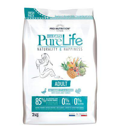 Pro Nutrition - Flatazor Pure Life for cats Adult