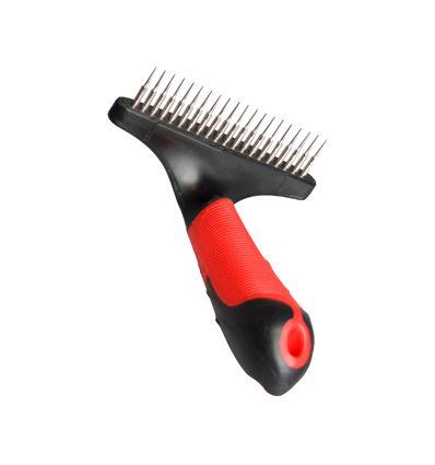 Peigne de soin estrille 20 dents - Accessoires pour chien