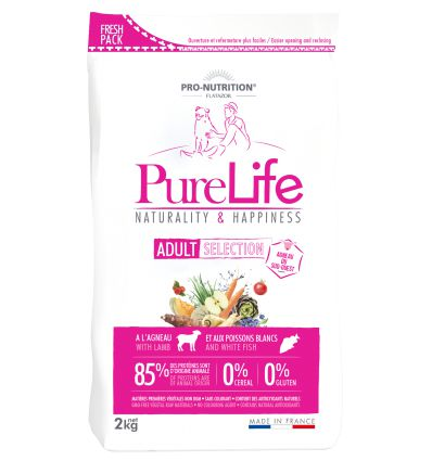 Pro Nutrition - Flatazor Pure Life Adult Selection Agneau