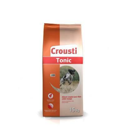 Crousti Tonic - Croquette pour chien - aliment pour chien - produit pour