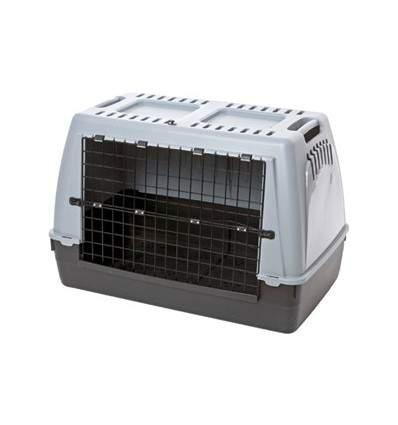 Cage de transport Barcco 100 gris - caisse à chien
