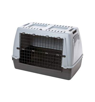 Cage de transport Barcco 90 gris - caisse à chien
