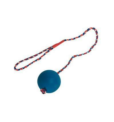 Balle avec corde - jouet pour chien