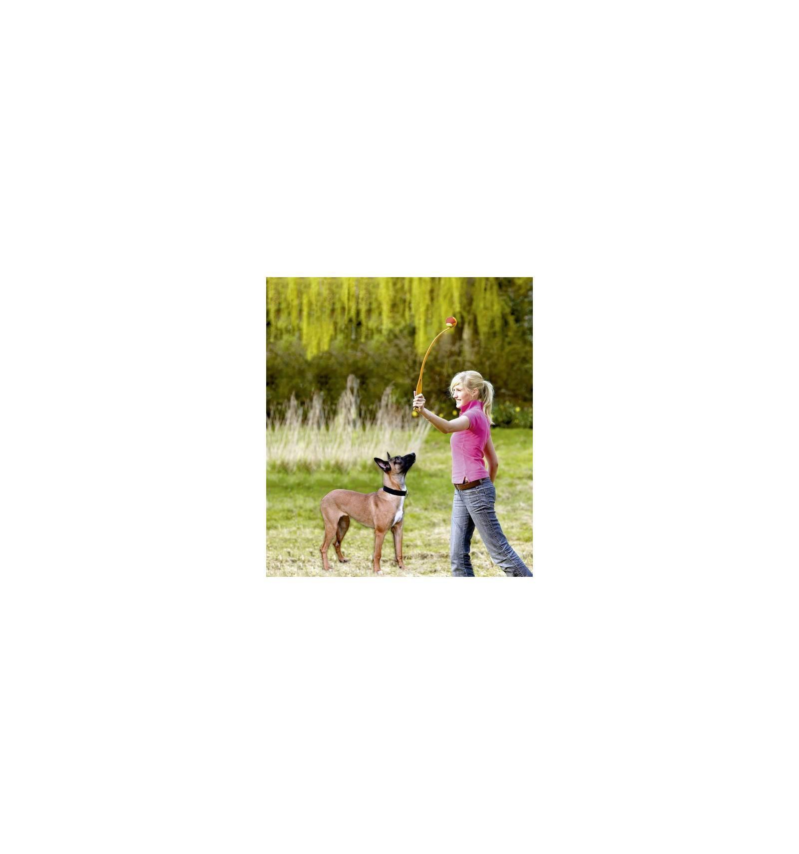 Accessoire chien lanceur balle de tennis jouet pour chien - Lanceur de balles pour chien ...