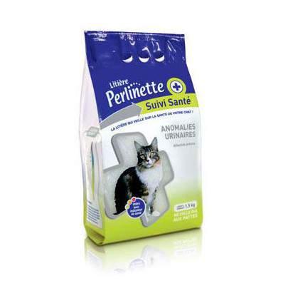 Perlinette suivi santé - litière pour chat - accessoire pour chat - produit pour
